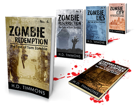 Tom Zombie books