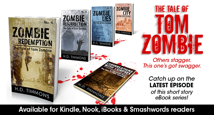 first 4 tom zombie books